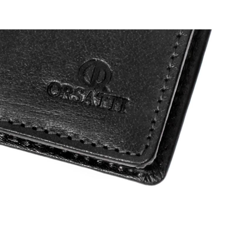 0ef761d30bd4d Etui na dokumenty Orsatti ED01 w kolorze czarnym