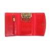 Etui na klucze Orsatti EK01 w kolorze czerwonym, skóra