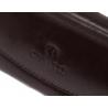 Etui na klucze Orsatti EK01 w kolorze brązowym, skóra