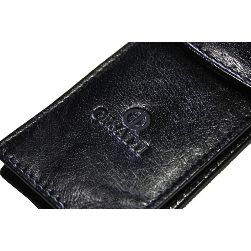 b33fc911bfb92 Etui na długopisy Orsatti w kolorze czarnym