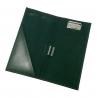 Receptownik (receptariusz) Orsatti R02 w kolorze zielonym, skóra eko