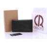 Długi, skórzany portfel damski Orsatti D05A czarny